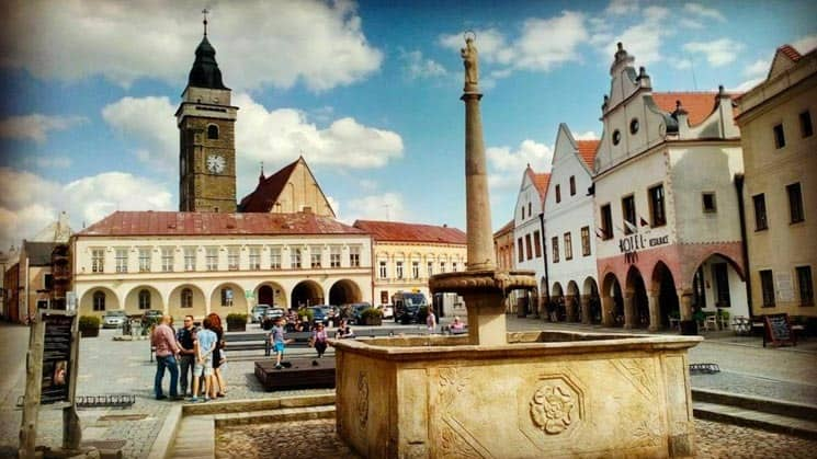 Lovely Czech town Slavonice