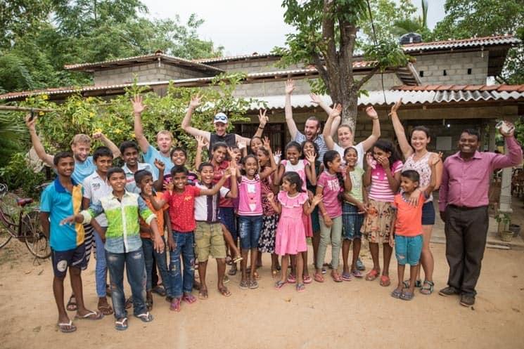 Vesnice Gewalseeya a výuka angličtiny , Srí Lanka