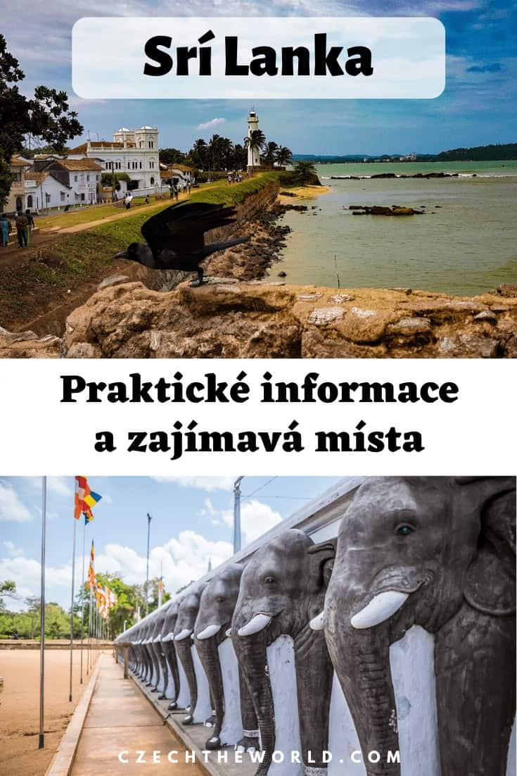 Srí Lanka: praktické informace na cestování + zajímavá místa 2
