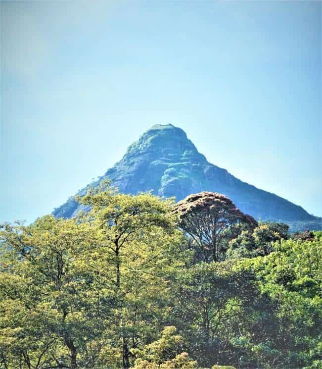 Adamova hora, Srí Lanka