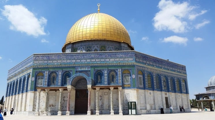 Dome of Rock in Jerusalem, Israel