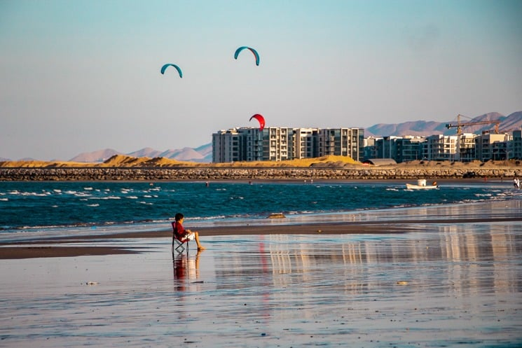 Things to do in Muscat - seeb beach