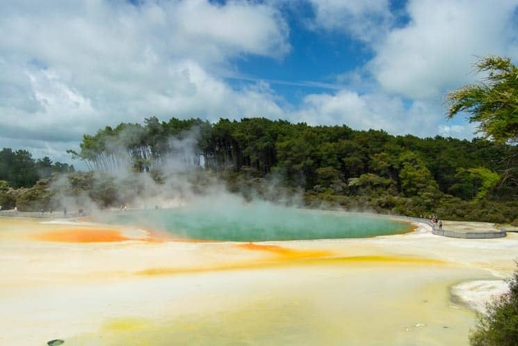 Champagne Pool - Wai-o-Tapu, North Island New Zealand
