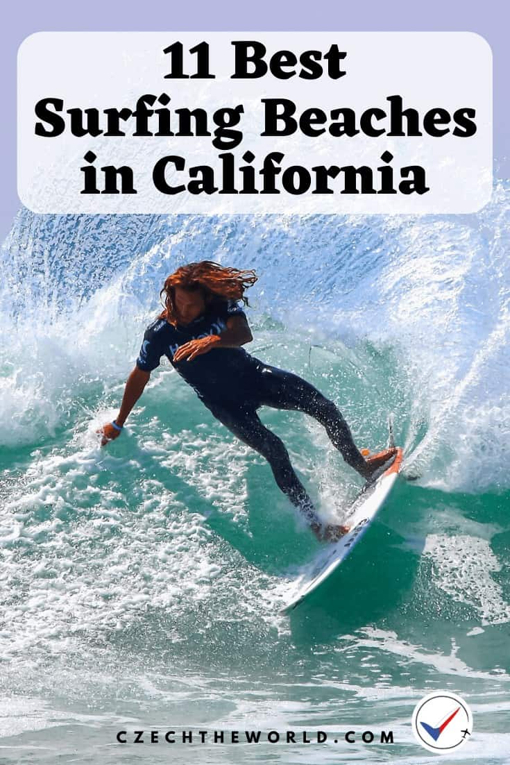 11 Best Surfing Beaches in California