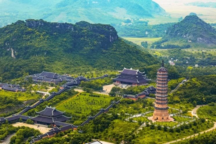 Bai Dinh Temple Complex Vietnam