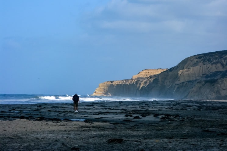 Surfing Beaches in California - blacks beach