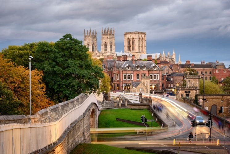 York Minster from the city wall - Great Day Trip from Liverpool