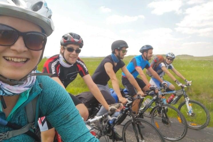 Křivoklátsko - výlet na kole