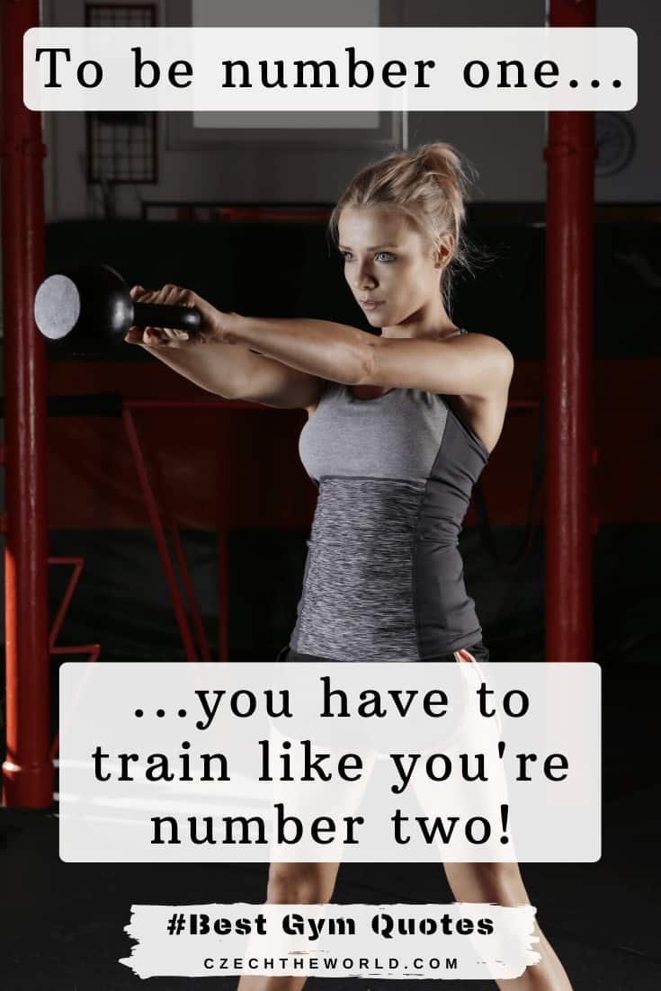 _To be number one, you have to train like you're number two._ - Maurice Green - Best Gym Quotes (1)