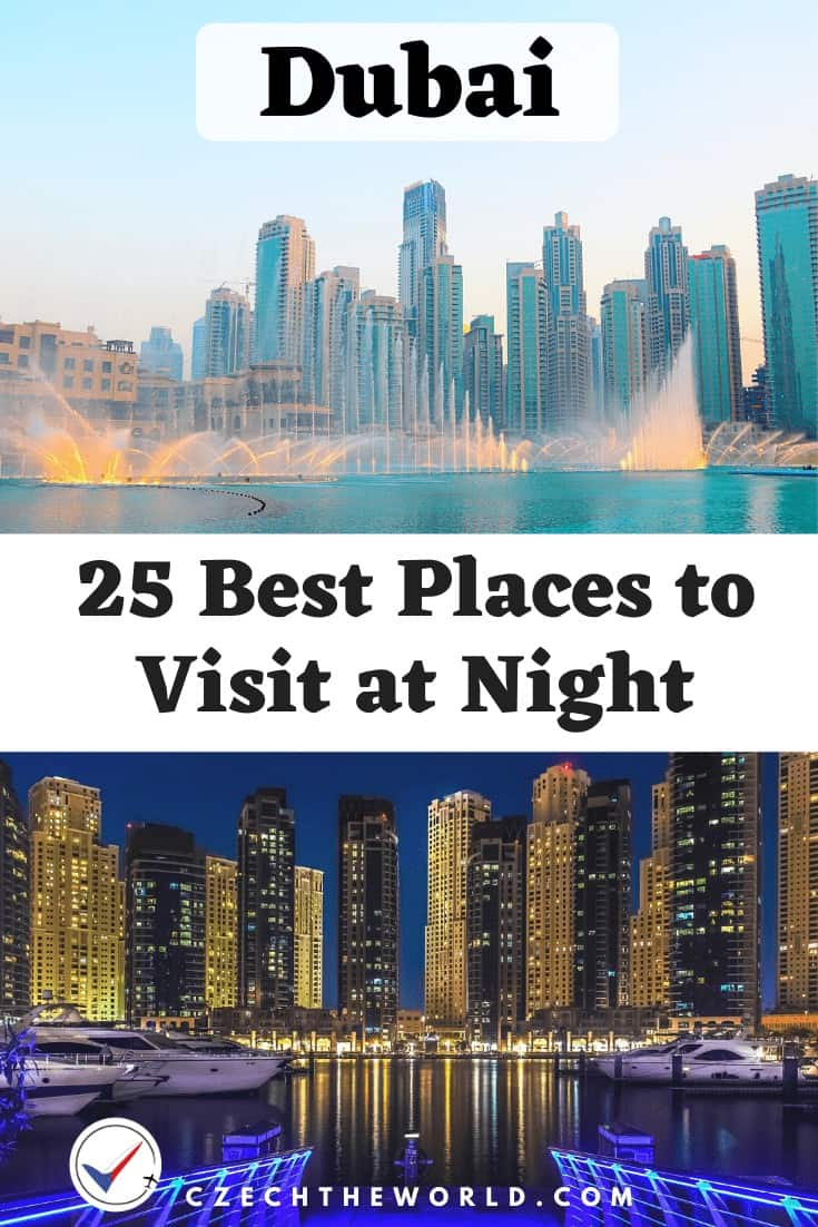 25 Best Places to Visit in Dubai at Night