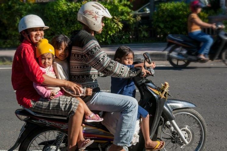 Bali doprava