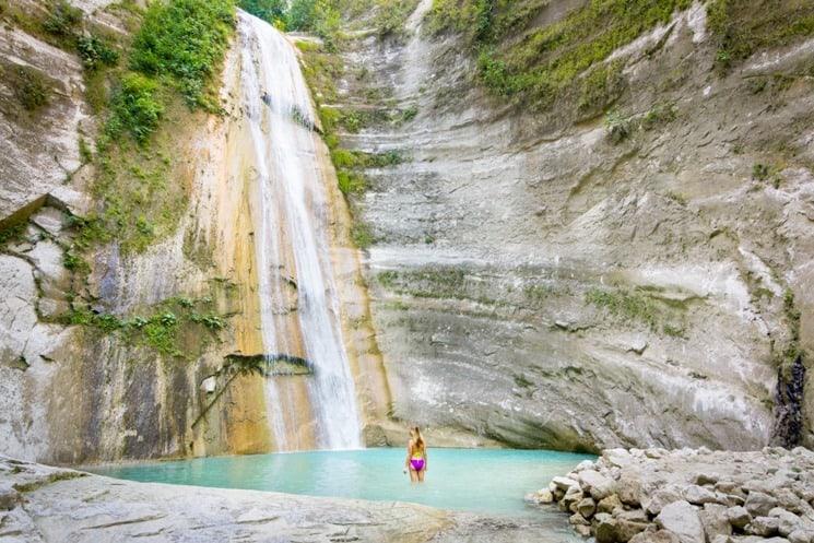 Best Tourist Spots in Cebu - Dao Waterfall