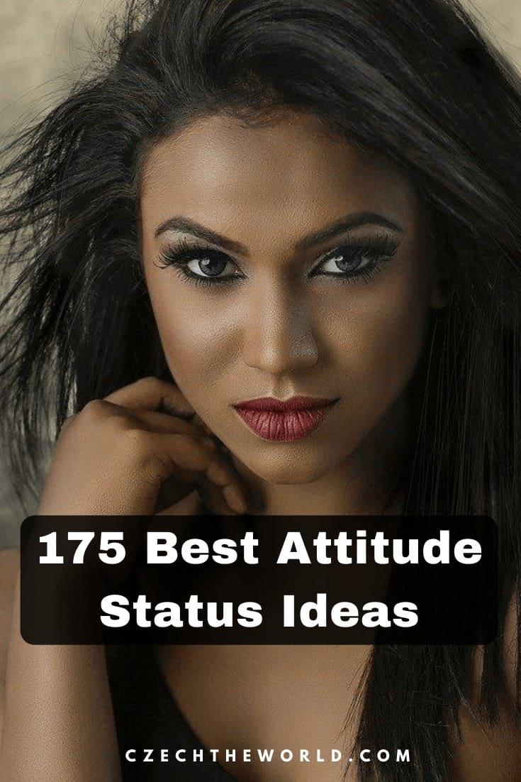 175 Best Attitude Status in English (1)