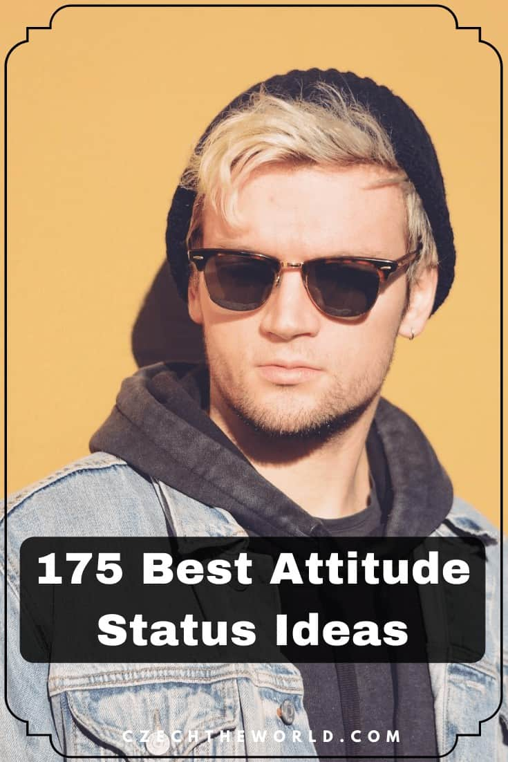 175 Best Attitude Status in English for WhatsApp, Facebook
