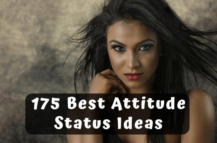 175 Best Attitude Status in English