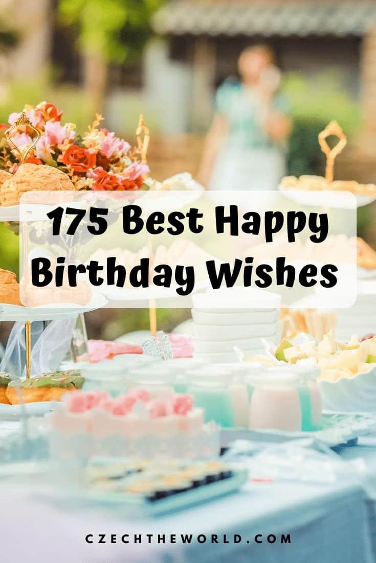 175 Best Happy Birthday Wishes (1)