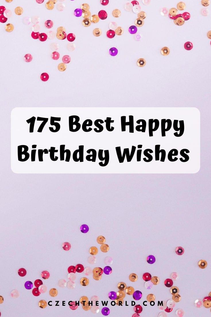 175 Best Happy Birthday Wishes (10)