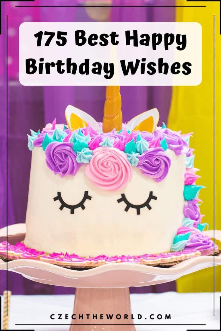 175 Best Happy Birthday Wishes (6)