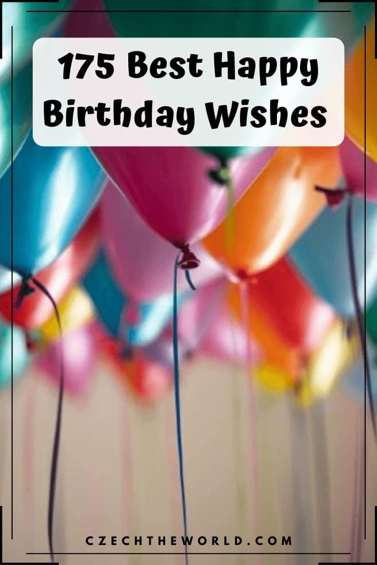 175 Best Happy Birthday Wishes (7)