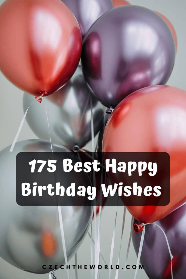 175 Best Happy Birthday Wishes (9)