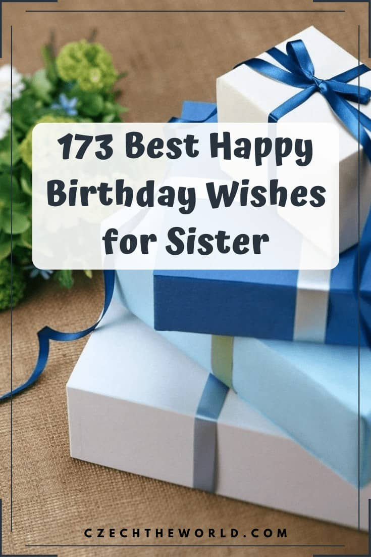 Best Happy Birthday Wishes for Sister (2)