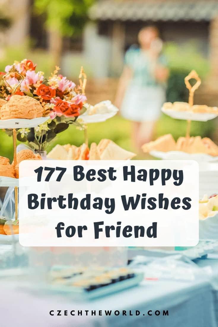 Best Happy Birthday Wishes for friend (1)