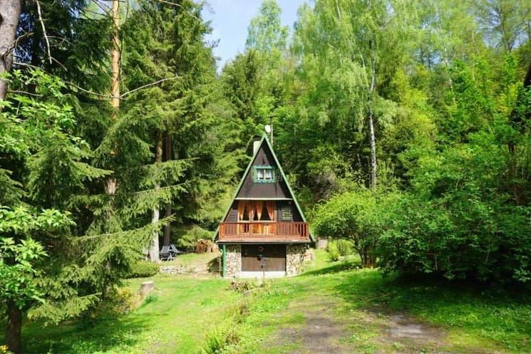 Chata v srdci Českého Švýcarska