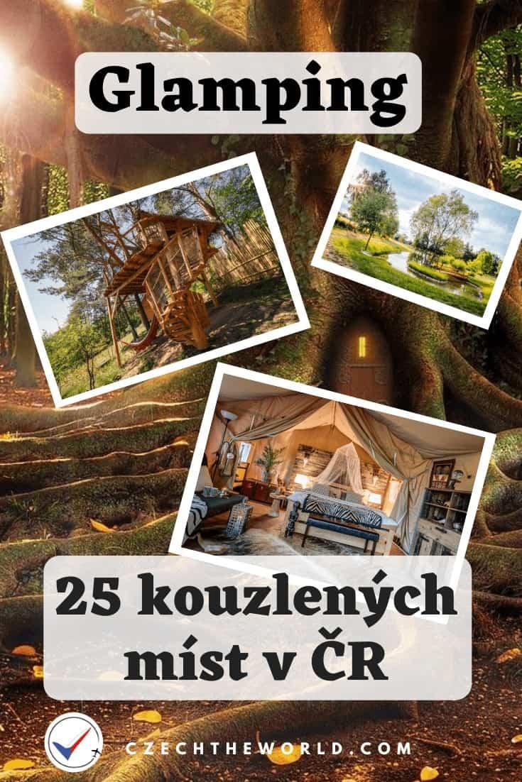 Glamping Česko - 25 kouzelných míst pro luxusní kempování 9