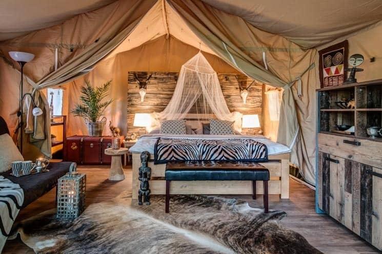 Glamping Safari a Africa House Zlín