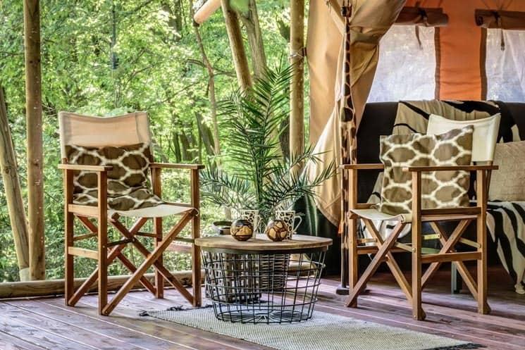 Glamping Safari a Africa House Zlín - kempování jako v Africe