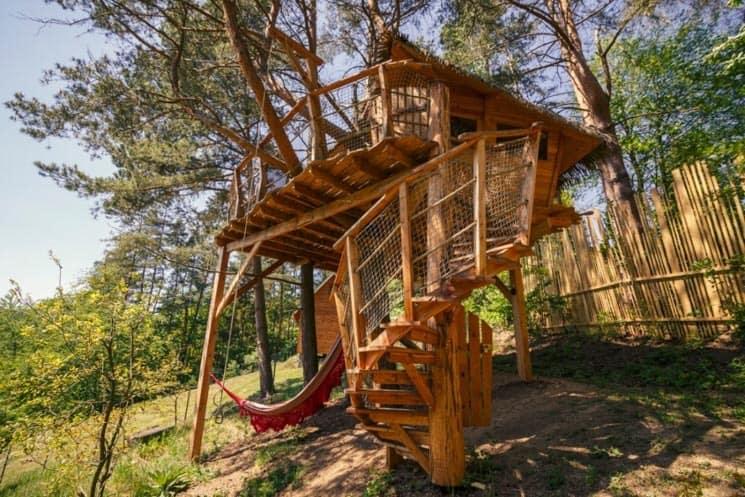 Glamping na stromě - Treehouse Stvořidla