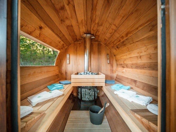 Cedrová sauna