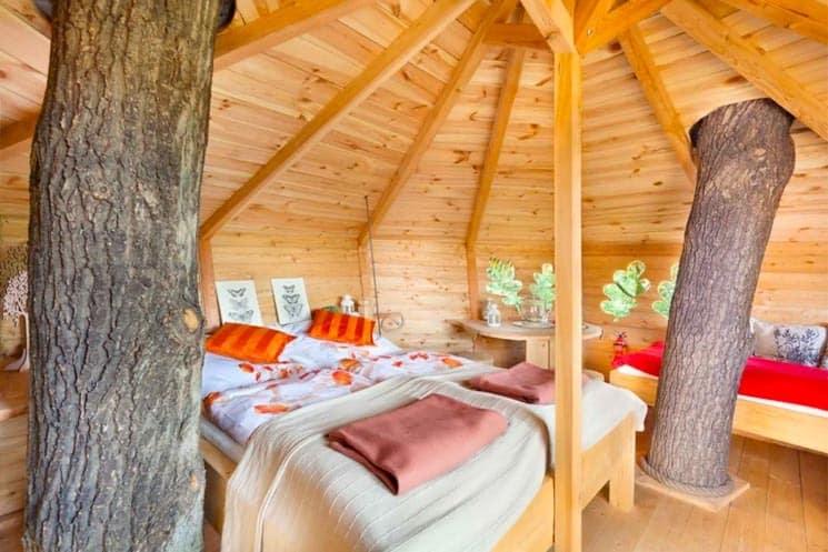 Treehouse Tři Duby - Glamping Česko