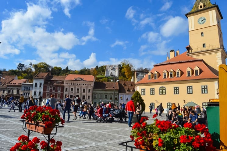 brasov the council square