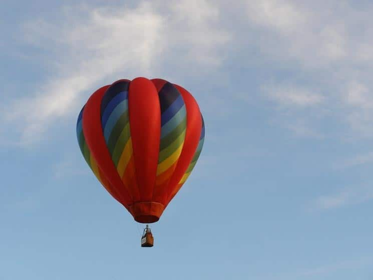 Kam v Praze - Co třeba vý-let horkovzdušným balonem?