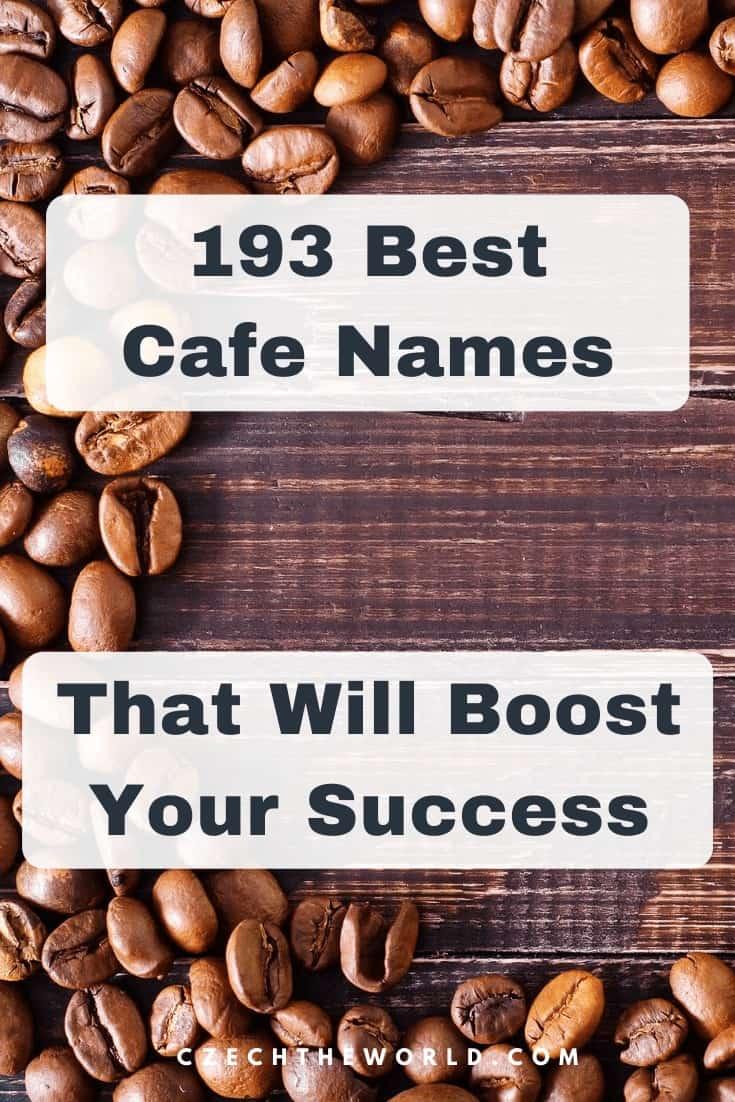 193 Best Cafe Names