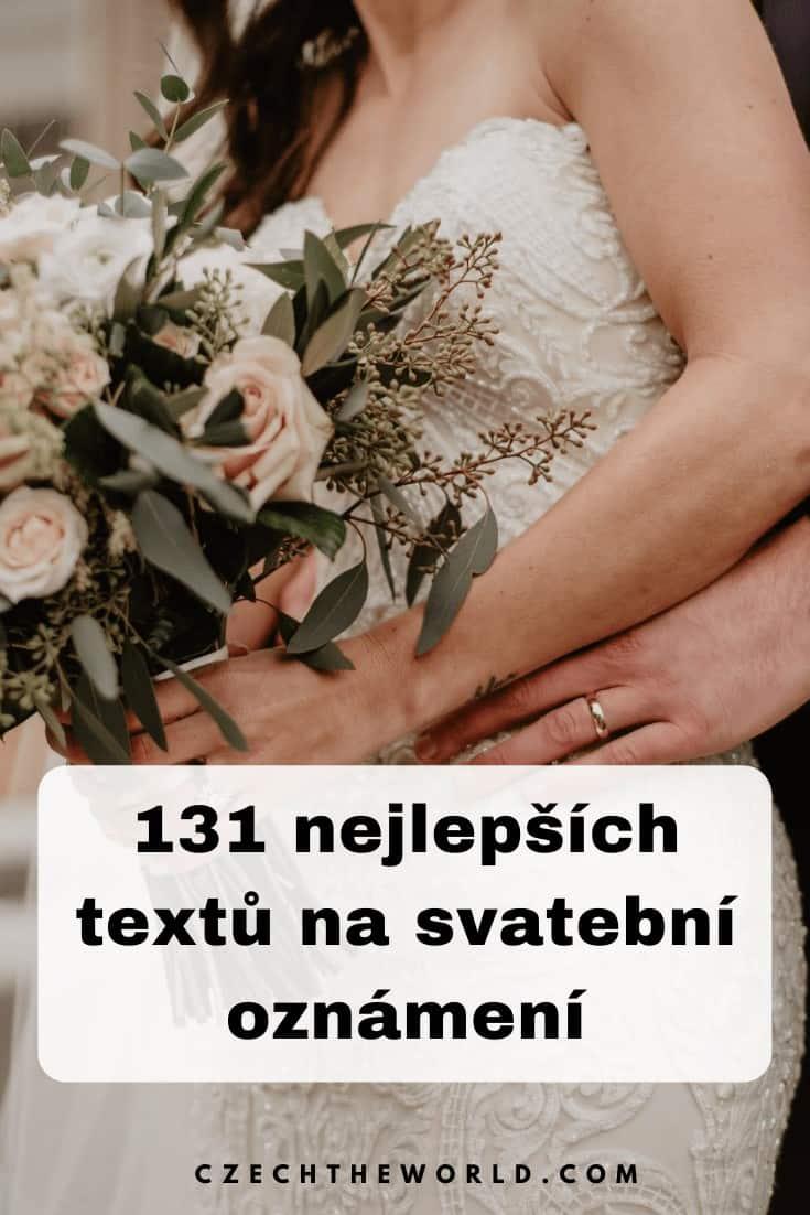 Texty na klasická svatební oznámení