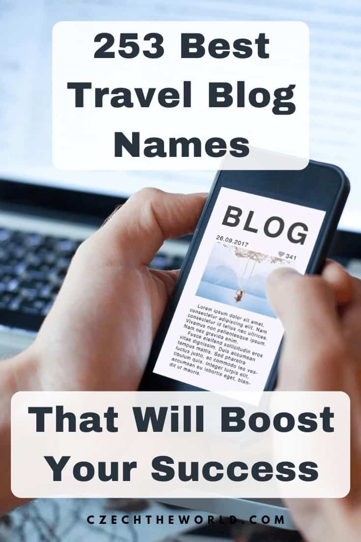 253 Best Travel Blogs Names (3)