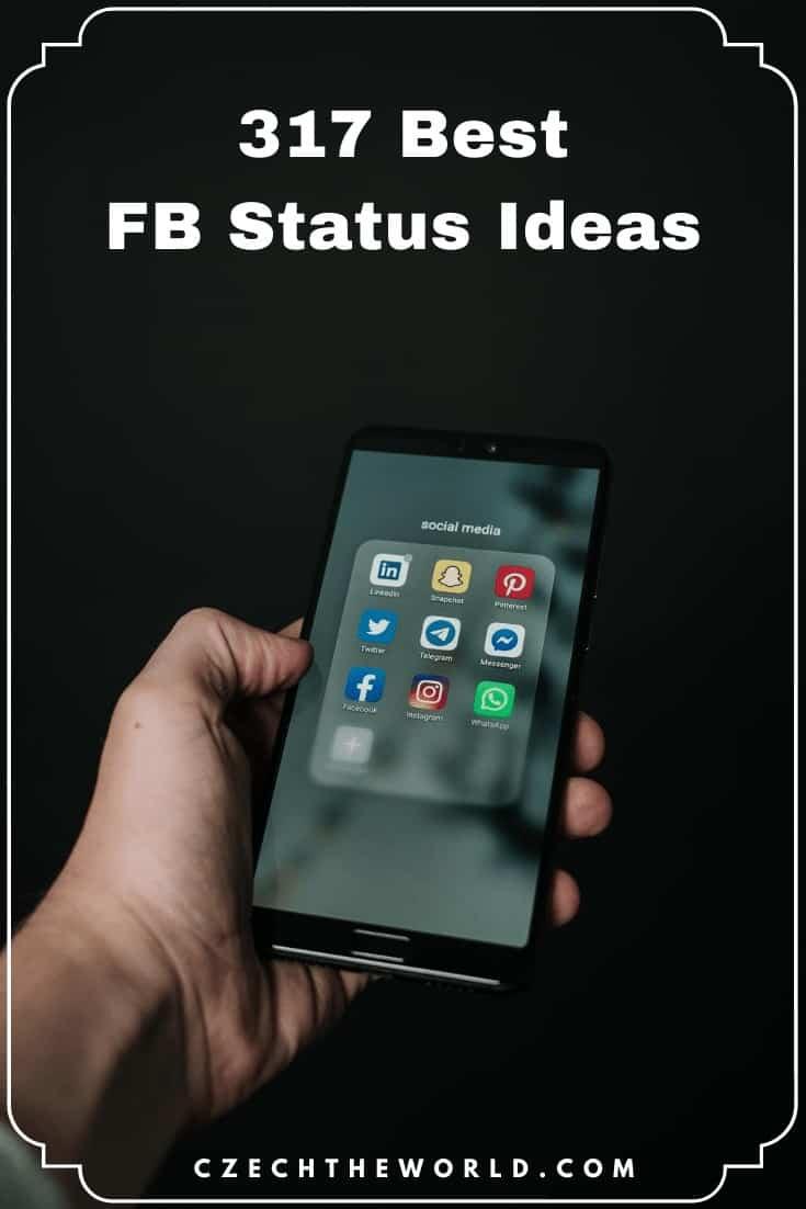 317 Best FB Status Ideas