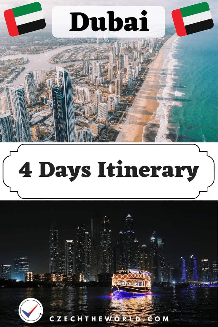 4 Days in Dubai Itinerary