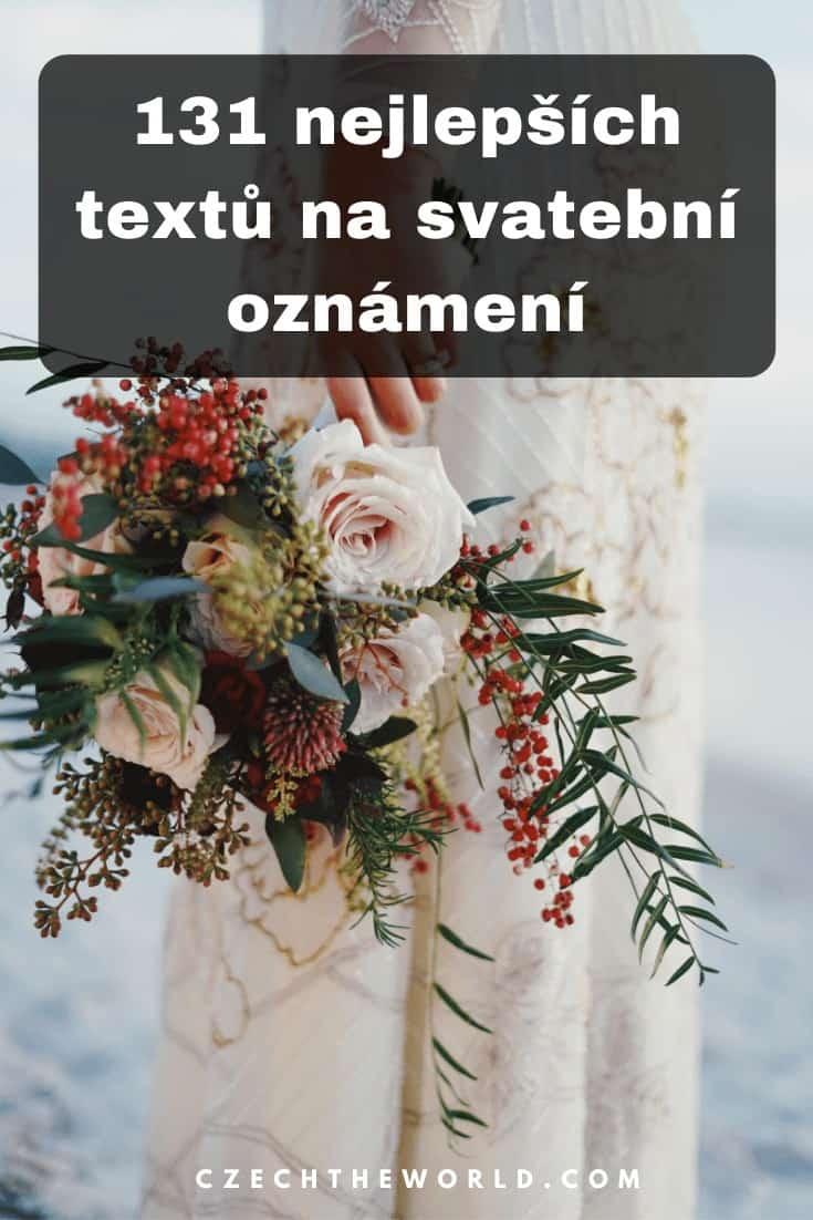 Veršovaná svatební oznámení