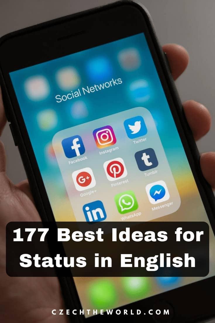 Best Status in English Ideas