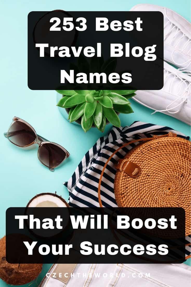 Best Travel Blog Names