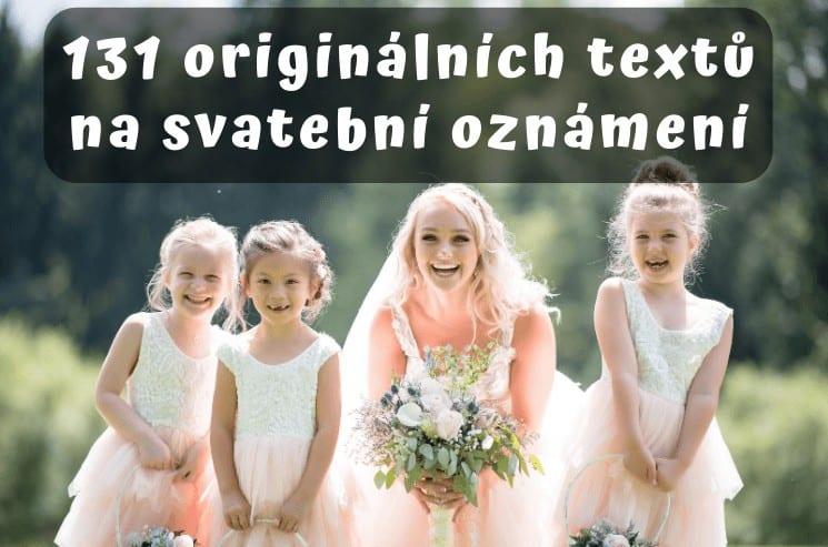 131 tipů na originální texty na svatební oznámení 1