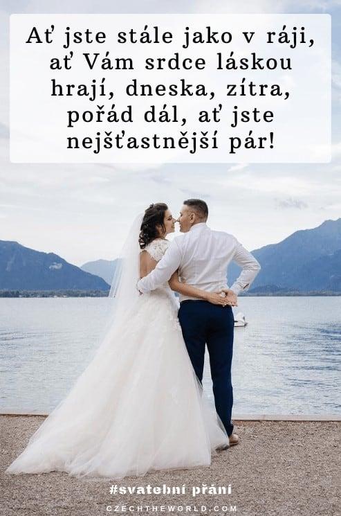 Veršované svatební přání novomanželům