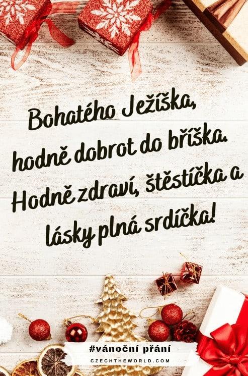 Krátké vánoční přání - Ježíšek