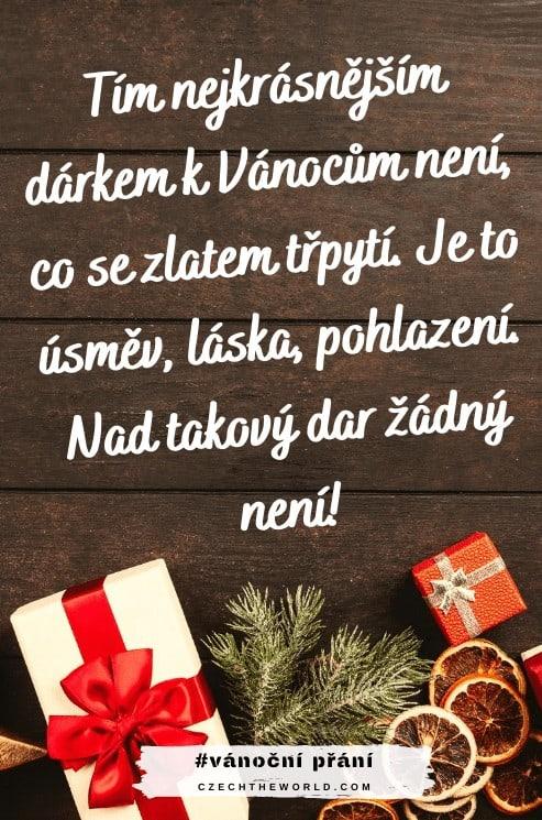 Vánoční přání - básnička