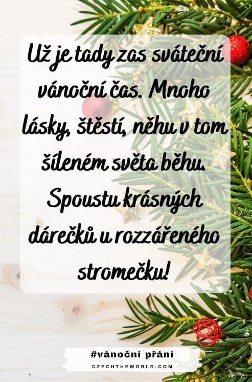 Vánoční přání od srdce