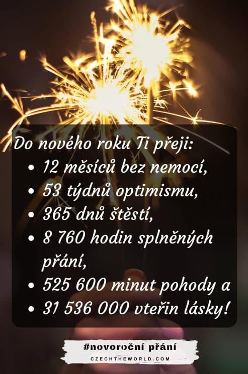 Novoroční přání - Do nového roku...
