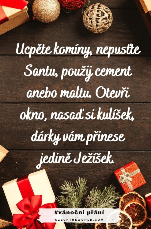 Vtipné vánoční přání - Santa vs. Ježíšek
